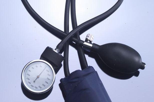 hur sänka högt blodtryck